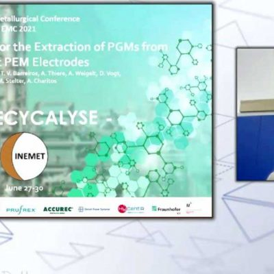 RECYCALYSE attends the European Metallurgical Conference EMC 2021