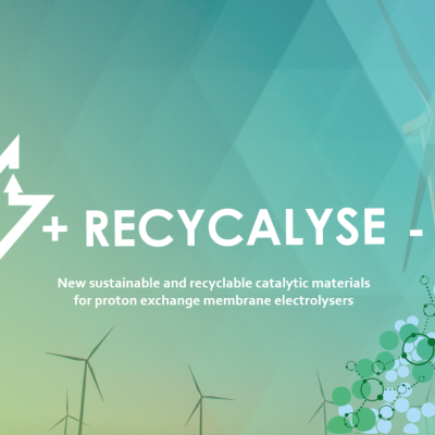 RECYCALYSE, a project to disrupt the energy market